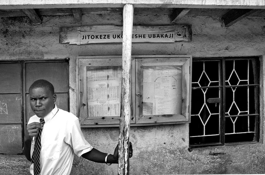 Kibera, Kenija. Vytauto Suslavičiaus nuotrauka