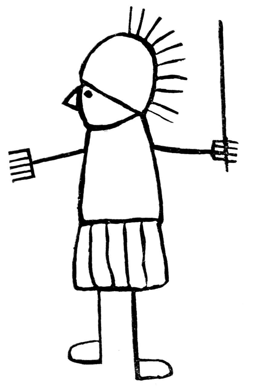 Gladiatoriaus karikatūra
