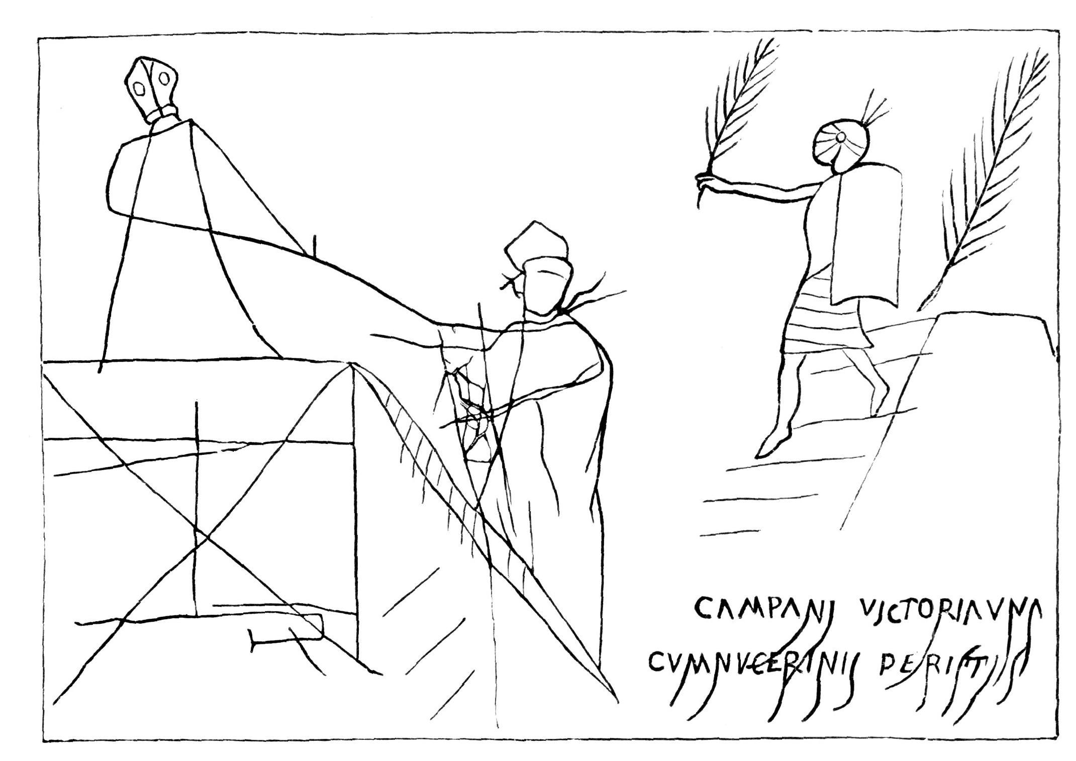 Scena Pompėjų amfiteatre