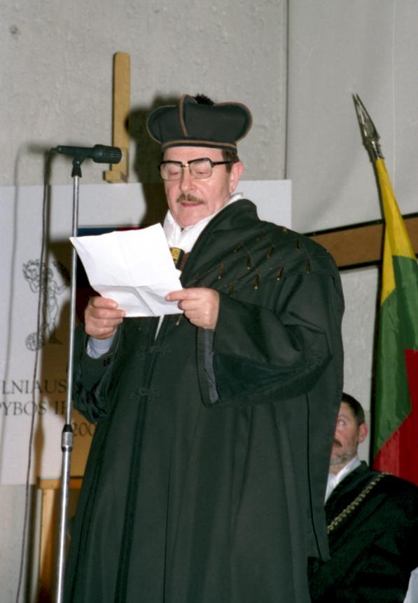 Alfredas Širmulis. Stasės Butrimienės nuotrauka