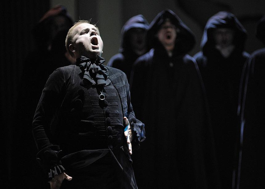 """""""Liučija di Lamermur"""". Nuotrauka iš Kauno valstybinio muzikinio teatro archyvo"""