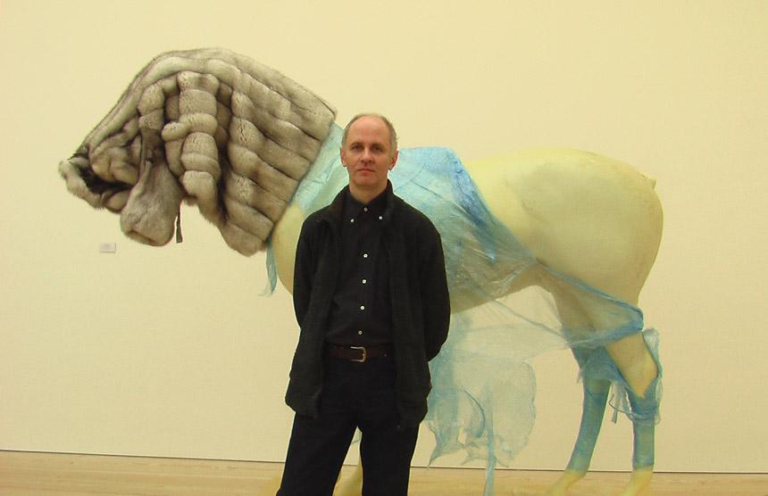 Š. Nakas Saatchi galerijoje Londone (2011). Karolinos Jakaitės nuotrauka