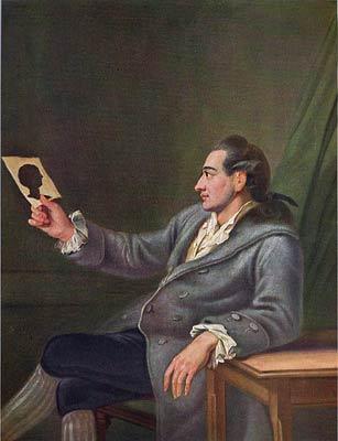 J. W. Goethe (nežinomo dailininko paveikslas)