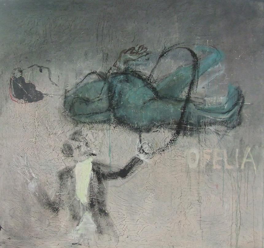 """Elena Balsiukaitė-Brazdžiūnienė. """"Ofelija"""", 2012. gn nuotrauka"""