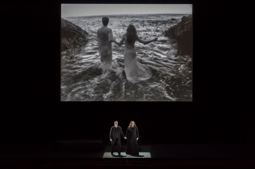 """""""Tristanas ir Izolda"""". Charles'io Duprato (Opéra national de Paris) nuotrauka."""