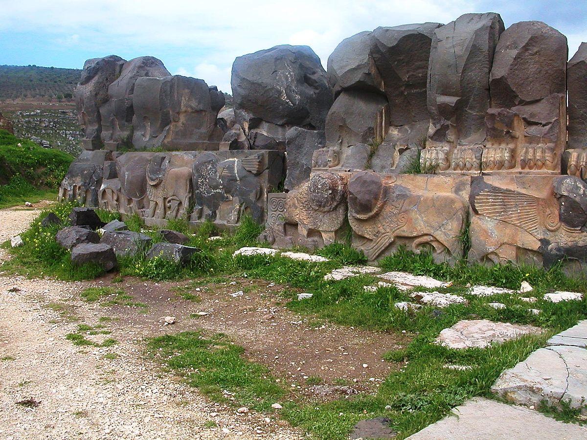 Ain Dara šventykla 2005 m. Odilios nuotrauka iš Vikipedijos