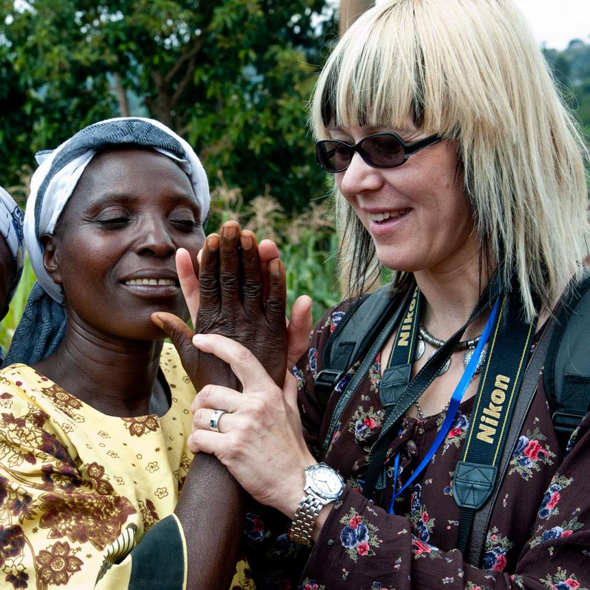 Sara Poisson Abagusyje (Kenija). Vytauto Suslavičiaus nuotrauka
