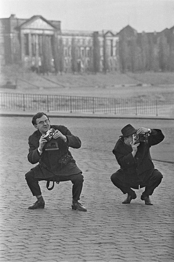 """Antano Sutkaus nuotrauka iš ciklo """"Kolegos"""". Karjeros pradžia. Drezdenas, 1967."""