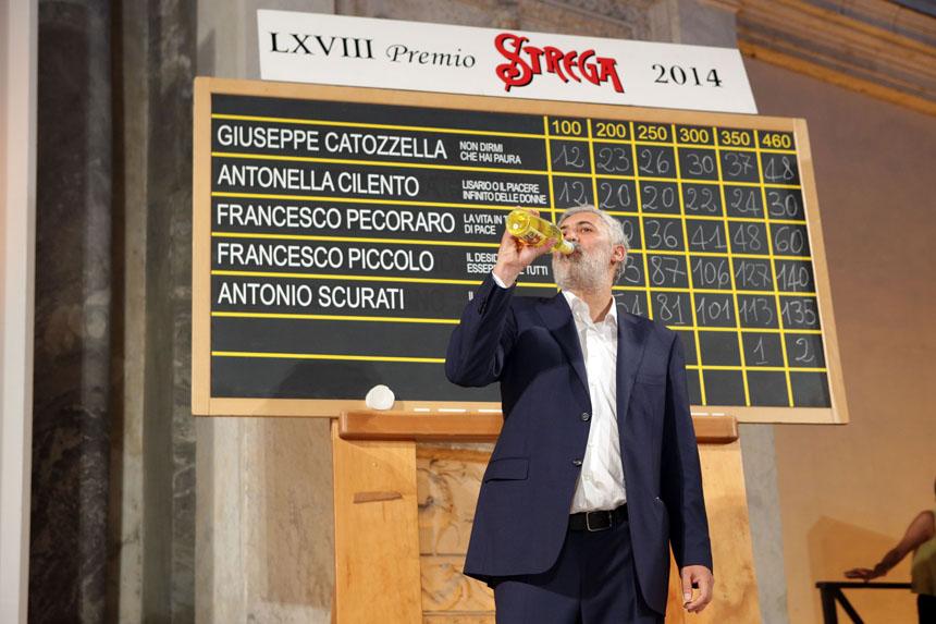 """""""Strega"""" premijos nugalėtojas Francesco Piccolo. Daniele's La Malfos nuotrauka"""