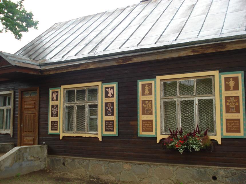 Langinės Rokiškyje. Tapytos 2007 metais
