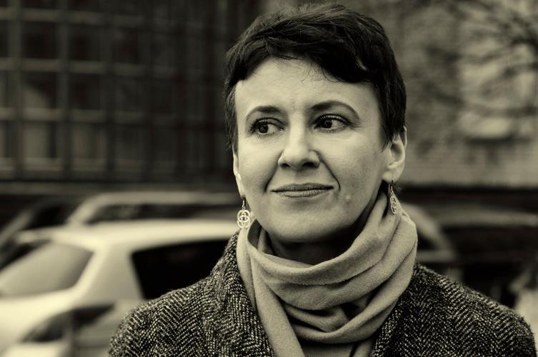 Oksana Zabužko. Nuotrauka iš asmeninio archyvo