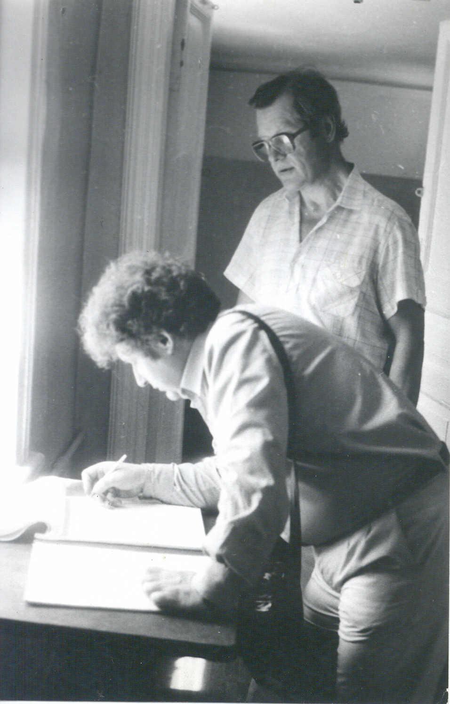 Algimantas Mikuta. Nuotrauka iš LM archyvo