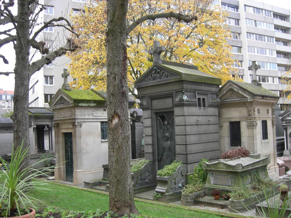 Monmartro kapinės. Vidos Girininkienės nuotrauka