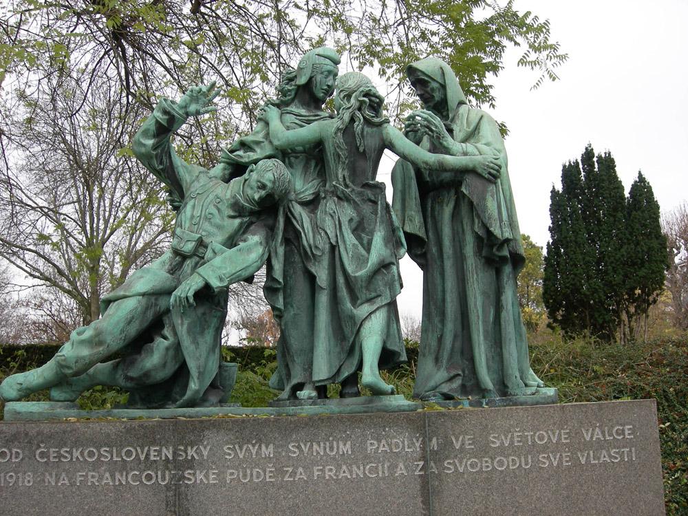 Memorialas Pirmojo pasaulinio karo dalyviams iš Čekoslovakijos