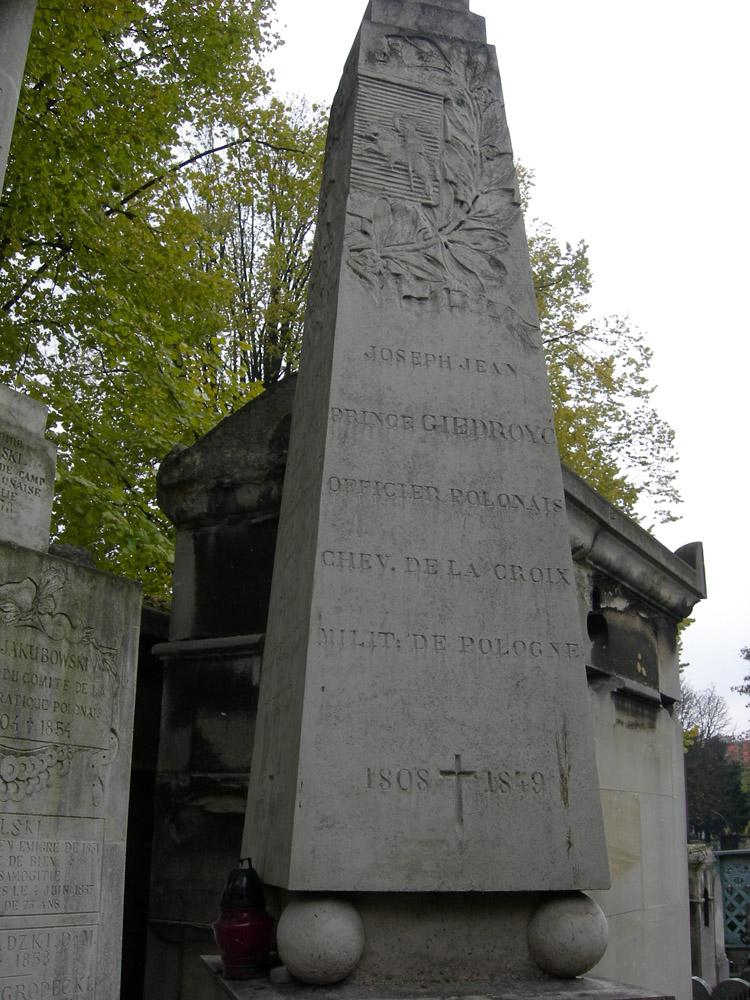 1863–1867 metų sukilimo būrio vado Juozapo Jono Giedraičio antkapinis paminklas bendroje kapavietėje