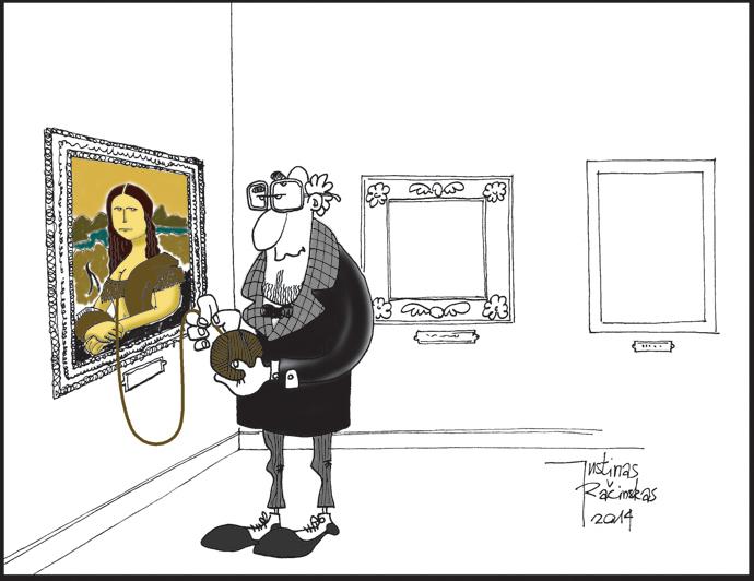 """Justinas Račinskas. """"Mona Liza"""""""