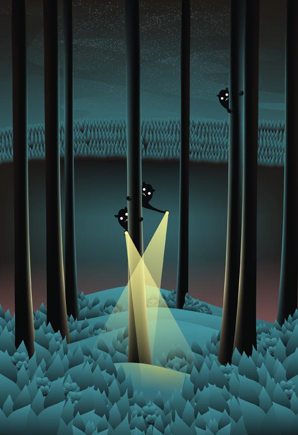 """Martynas Pavilonis. """"Nebijok, nesislėpk"""", skaitmeninė technika, 2012"""