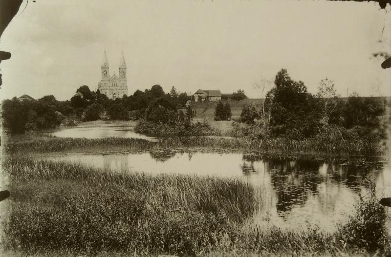 Prieškario Krekenava. Tado Bajarūno nuotrauka iš Panevėžio kraštotyros muziejaus rinkinių