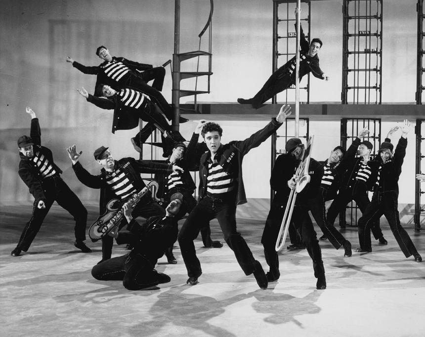 "Elvis Presley filme ""Kalėjimo rokas"""