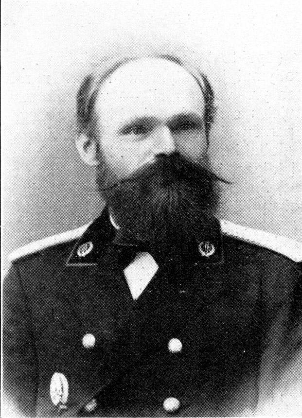 Povilas Matulionis su miškininko uniforma 1904 m.