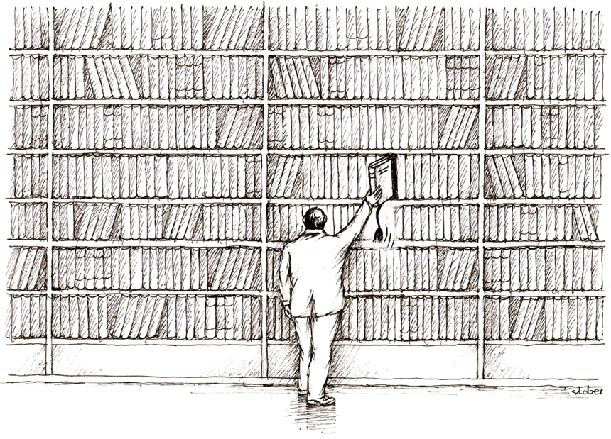 Vladimiro Beresniovo karikatūra