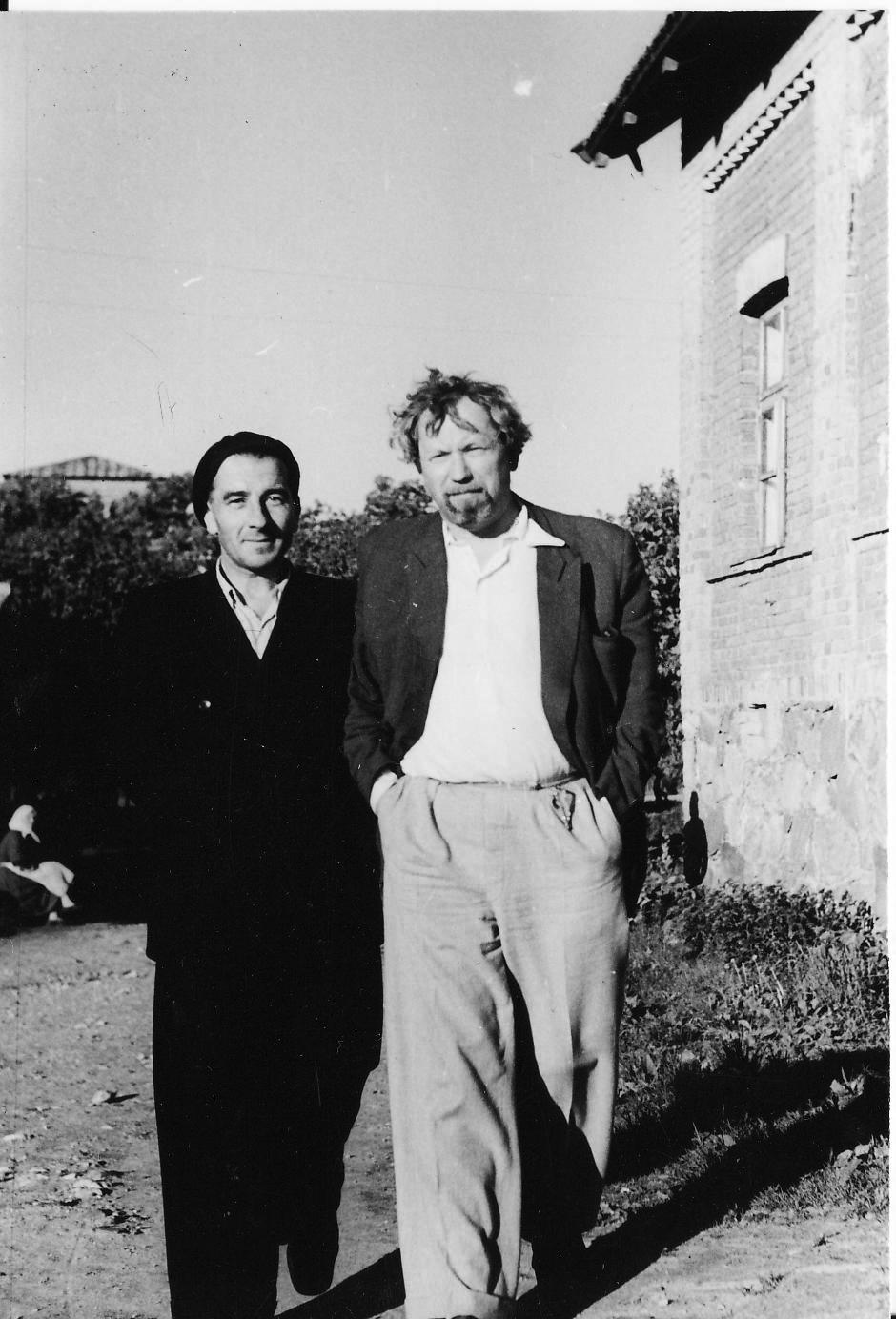 M. Melėnas ir J. Miltinis