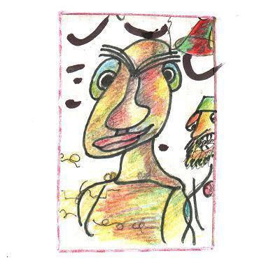A. Šiušos autoportretas
