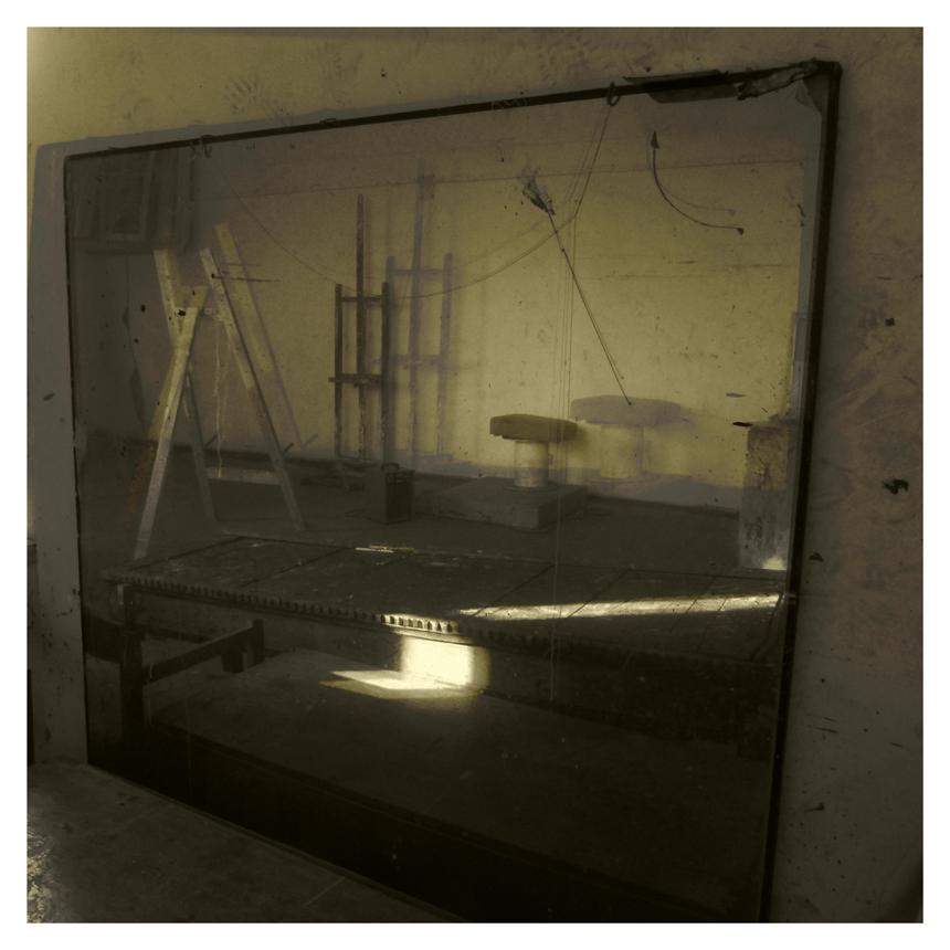 "Eglė Vertelkaitė. ""Veidrodis I"", 1060 x 1060 mm"