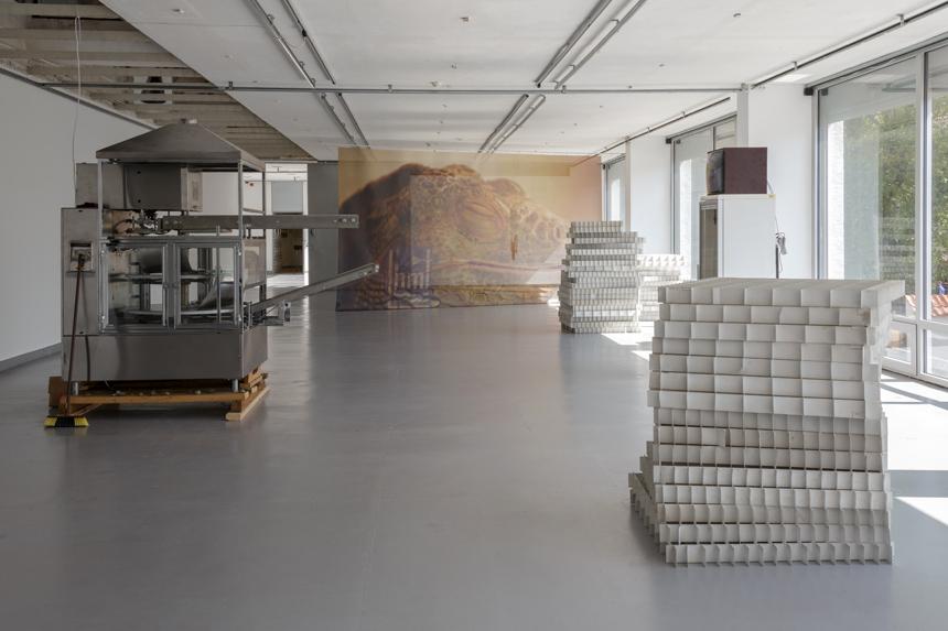 """Liudviko Buklio parodos """"Kaip liežuviai""""  fragmentas. Nuotrauka iš parodos rengėjų archyvo"""