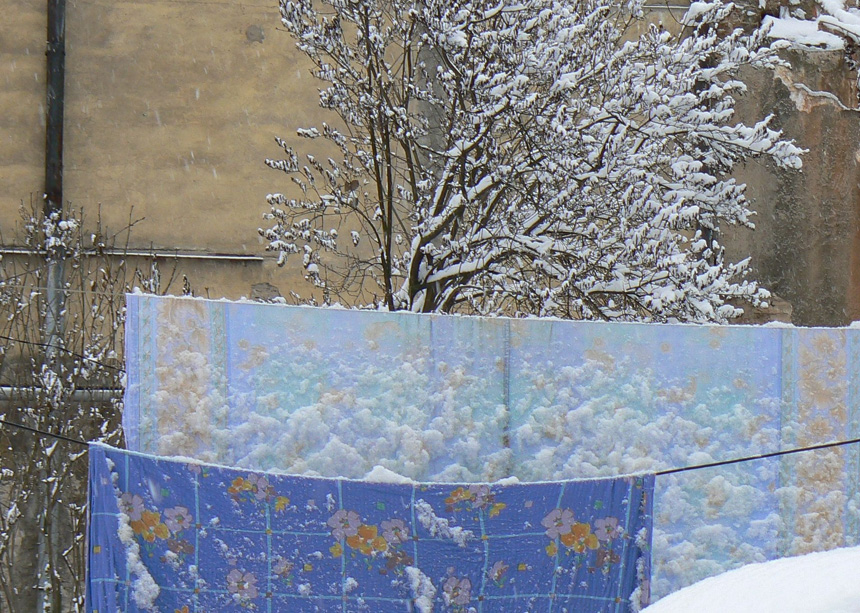 """Regimantas Tamošaitis. """"Užupio kiemas"""", 2007"""