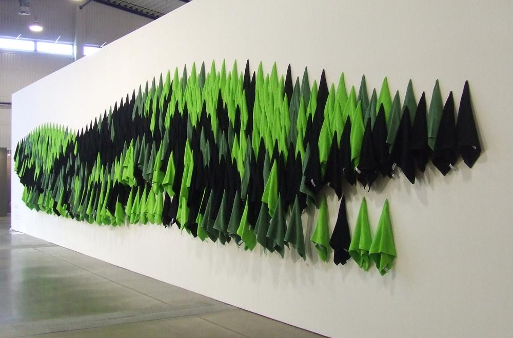 """Geriausia  """"ArtVilnius '15"""" instaliacija – Nikita Šalenas """"Sibiras"""" (Ukraina). gyčio norvilo nutraukimas"""