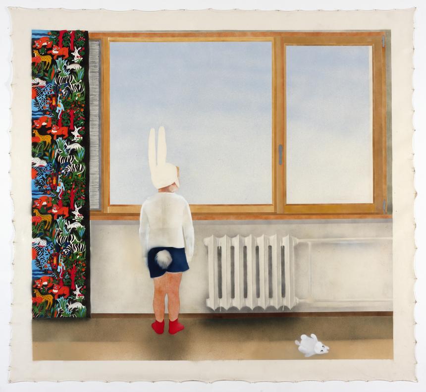 """Eglė Ridikaitė. """"Kitas zuikis"""", 2011 (Vidmanto Ilčiuko nuotrauka)"""