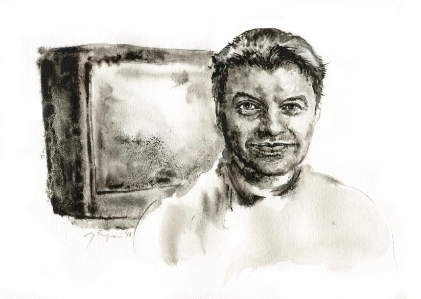Ramūnas Čičelis. Ugnės Žilytės piešinys