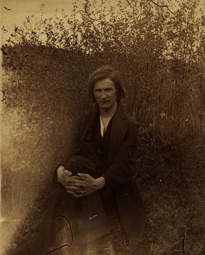 Balys Sruoga – Petrogrado universiteto Istorijos-filologijos fakulteto literatūros specialybės studentas, 1915–1916 m. Nuotrauka iš LLTI BF, Sruogos fondo
