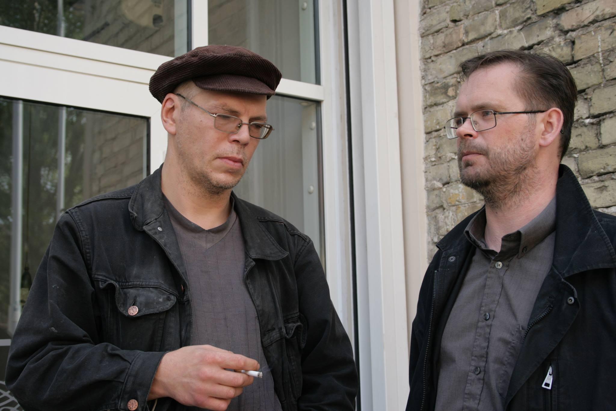 Tomas Arūnas Rudokas ir Darius Pocevičius. Gedimino Baranausko nuotrauka