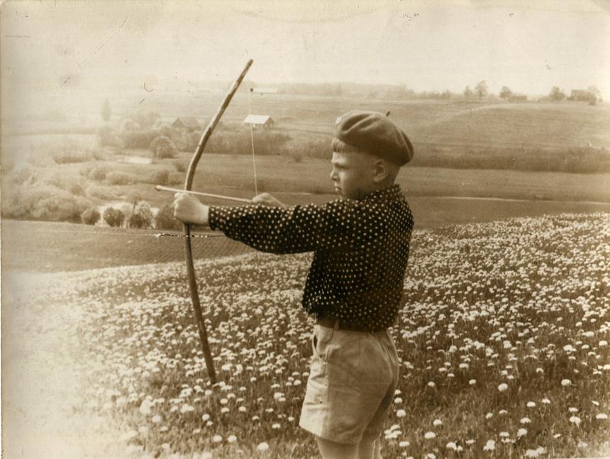 Tomas Arūnas Rudokas vaikystėje (nuotrauka iš T. A. Rudoko archyvo)