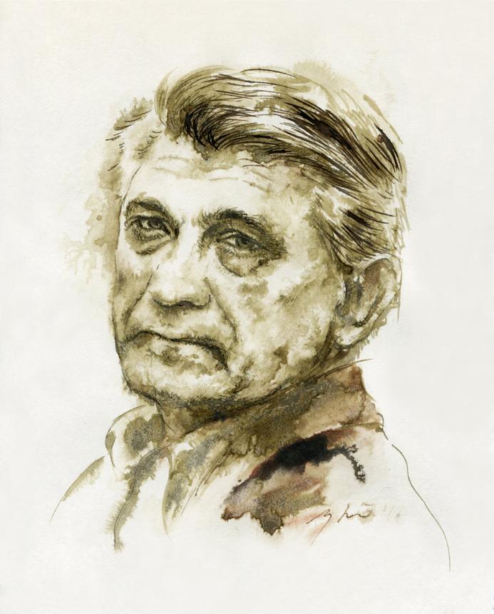 Aleksandras Sokurovas. Ugnės Žilytės piešinys