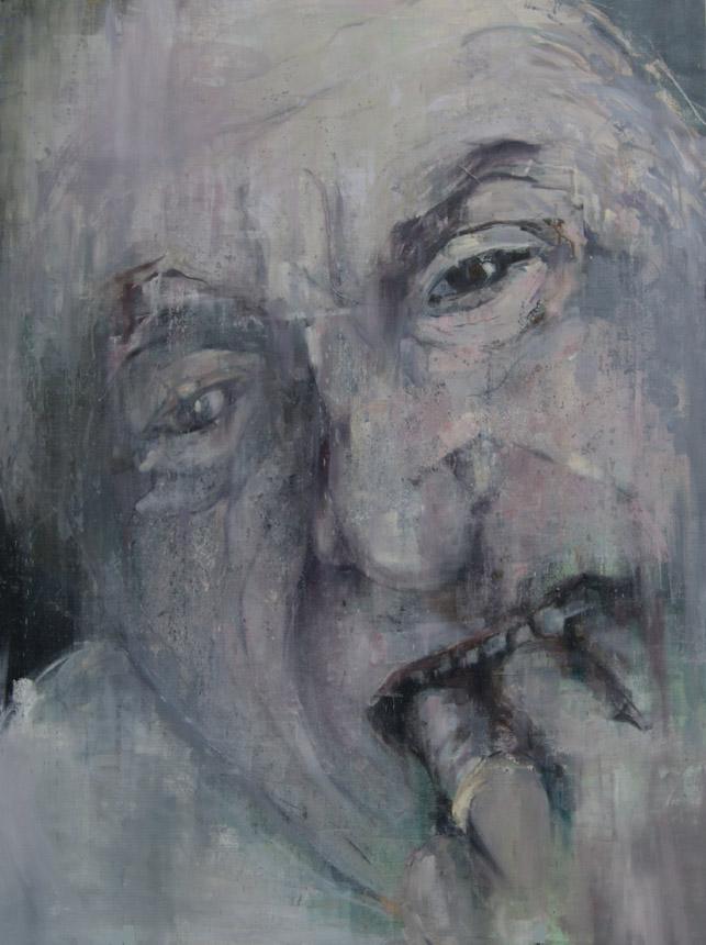"""Benas Alejūnas. """"Bukas"""", drobė, akrilas, aliejus, 160 x 120, 2014"""
