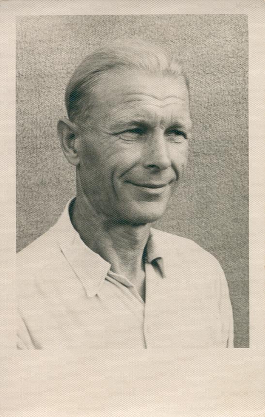 Stasys Mikšta apie 1960 m. Nuotraukos iš S. Mikštos asmeninio albumo