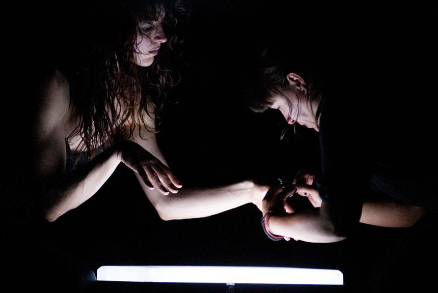 """The Black Piece"" . Maarteno Vanden Aabeele's nuotrauka iš festivalio archyvo"