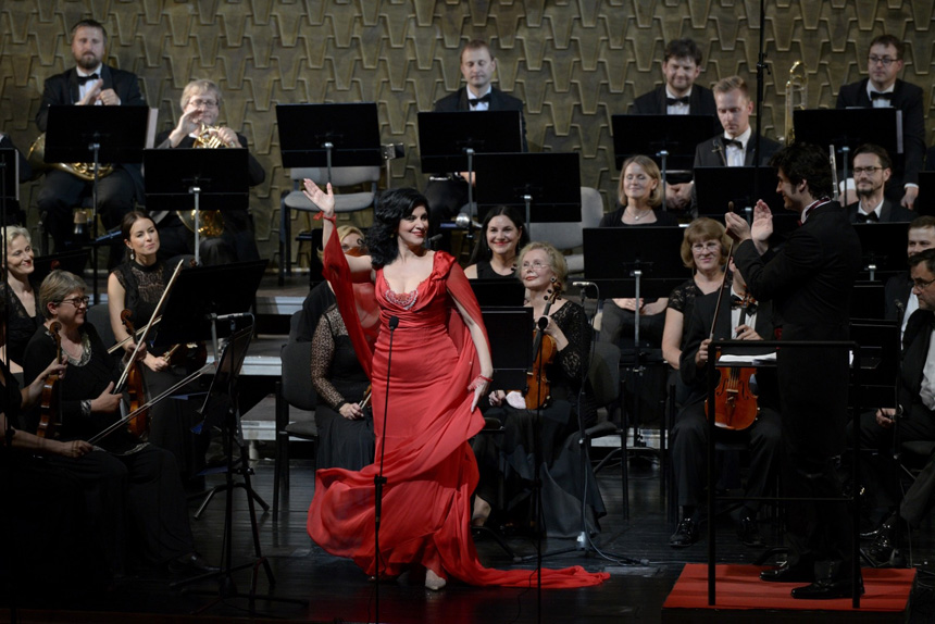 Angela Gheorghiu. Martyno Aleksos nuotrauka