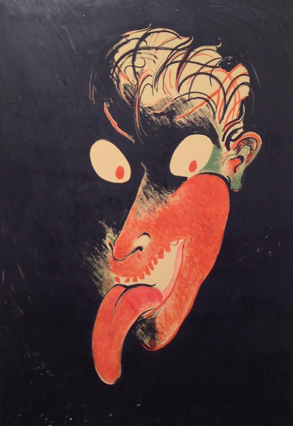 "Calvin Marcus. ""me with tongue"", 2015 (Majamis)"