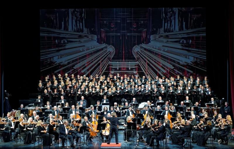 "H. Berliozas. ""Requiem"". Martyno Aleksos nuotrauka"