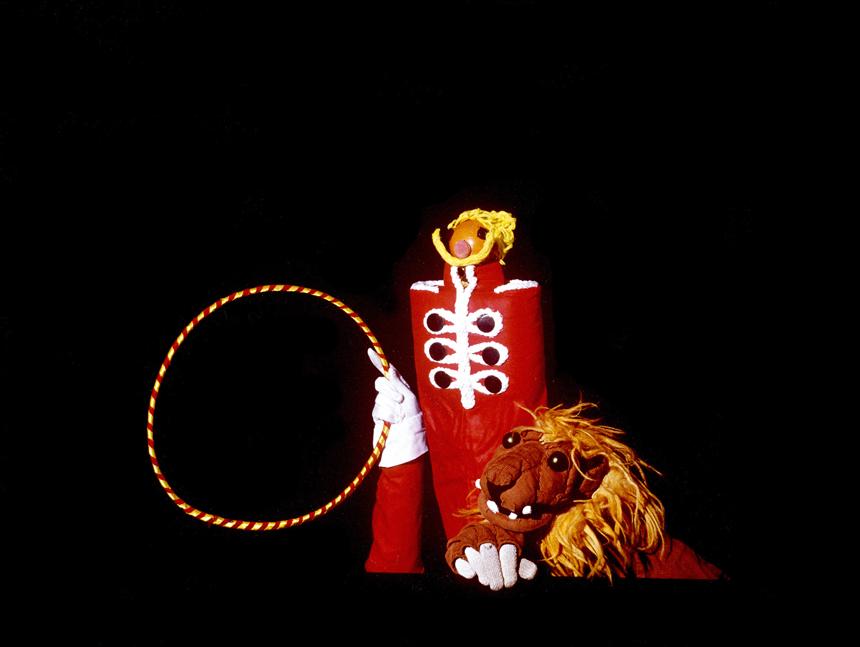 """""""Liūtas ir tramdytojas"""". Nuotraukos iš asmeninio G. Volpicelli archyvo"""