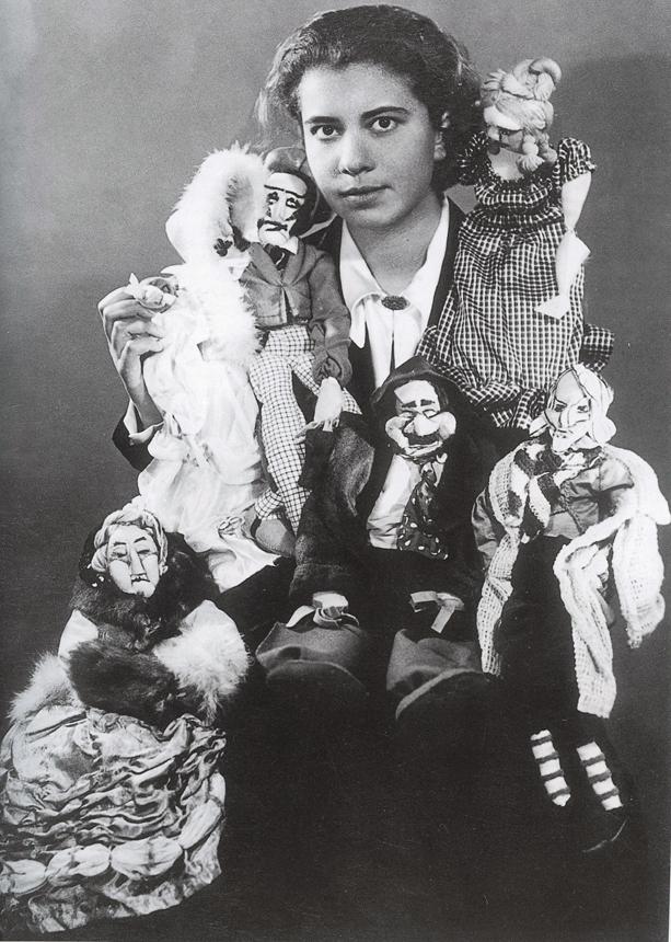 M. Signorelli su fantočiais po savo parodos Berlyne, 1930 m.