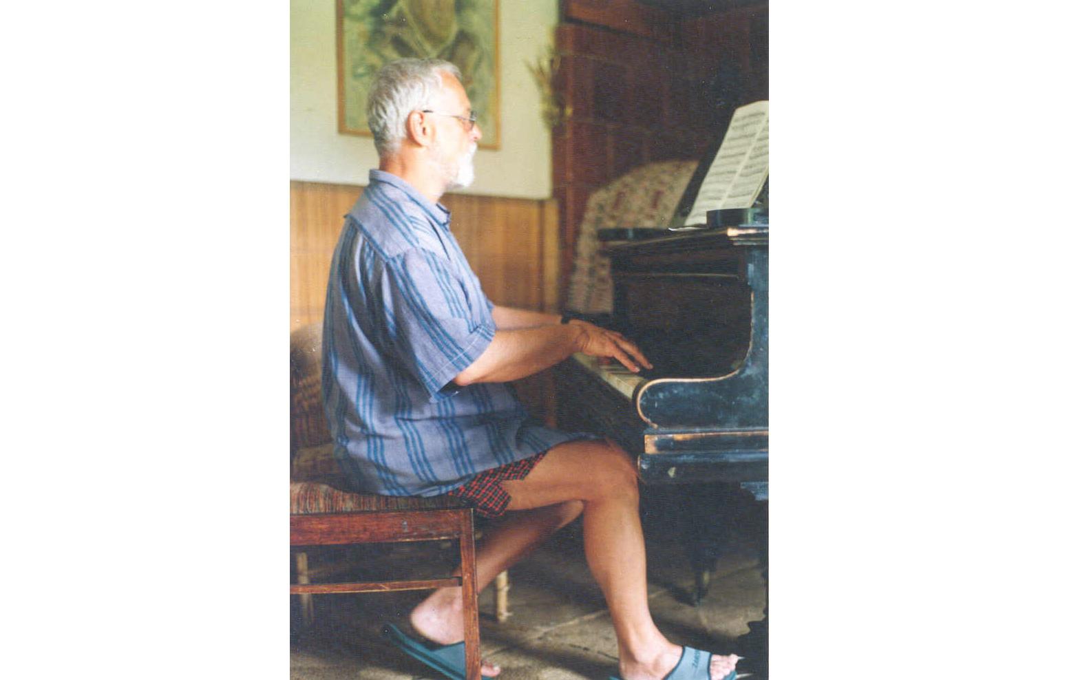 Krzysztofas Droba. Palanga, 1996. Autoriaus nuotrauka