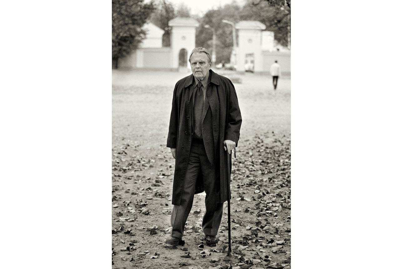 Czesławas Miłoszas. Butauto Barausko nuotrauka