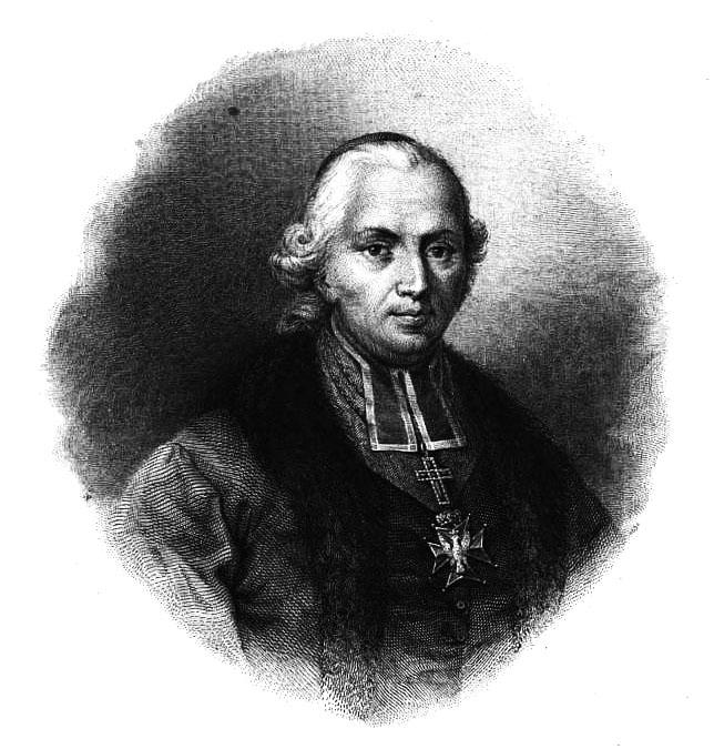 Antonio Oleszczyńskio graviūra  pagal Danielio Chodowieckio piešinį