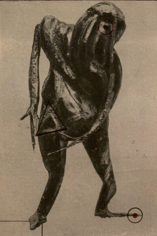 Ramūnas Paniulaitis. Koliažas, 7,4 x 10,9