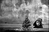 """A. Kunčius. """"Prieš Kalėdas  M. Gorkio (Pilies) gatvėje"""", 1966"""